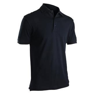 24-7 Series Short Sleeve Comfort Cotton Polo Navy