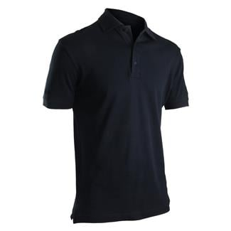 24-7 Series Short Sleeve Comfort Cotton Polo Navy