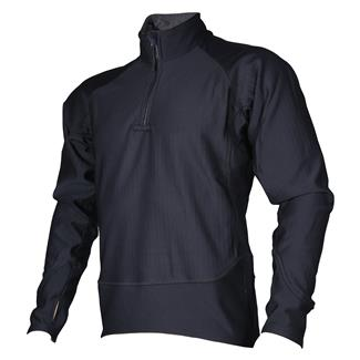24-7 Series Cross-Fit Grid Fleece Pullover Black
