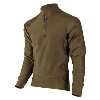 TRU-SPEC 24-7 Series Cross-Fit Grid Fleece Pullover Coyote