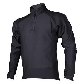 24-7 Series Cross-Fit Grid Fleece Pullover Gray