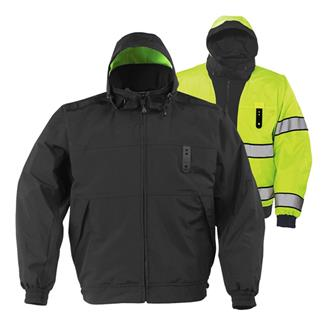 Propper Halo II Reversible Hi-Vis Duty Jackets Black