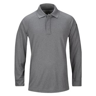 Propper Long Sleeve Snag-Free Polo Heather Gray