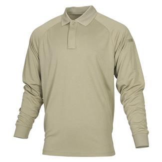 Propper Long Sleeve Snag-Free Polo Silver Tan