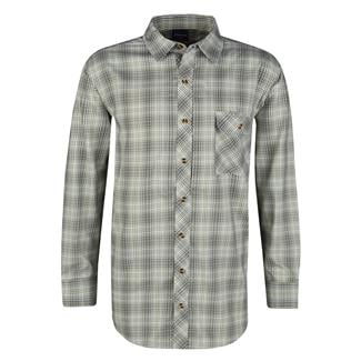 Propper Long Sleeve Covert Button-Up Loden Green Plaid