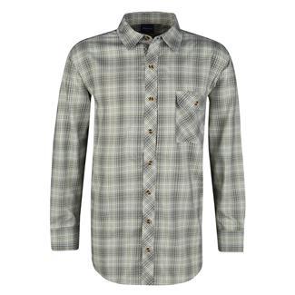 Propper Long Sleeve Covert Button-Up Loden Green Plaid