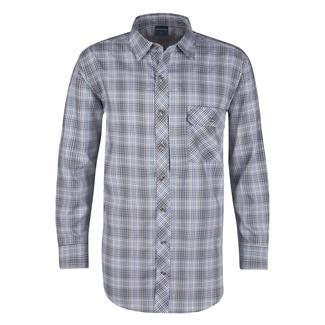 Propper Long Sleeve Covert Button-Up Ocean Blue Plaid