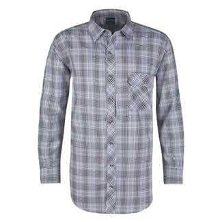 Propper Long Sleeve Covert Button-Up Ocean Blue Plaid