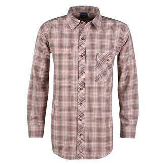 Propper Long Sleeve Covert Button-Up Barn Red Plaid