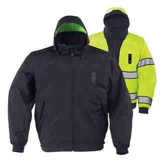 Propper Halo II Reversible Hi-Vis Duty Jackets LAPD Navy