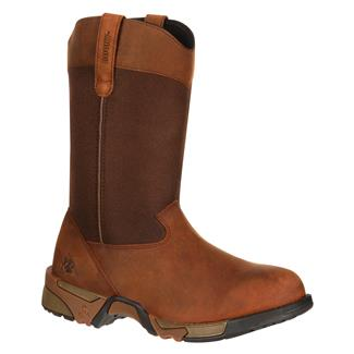 """Rocky 10"""" Aztec Pull-On Brown"""