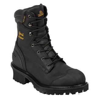 "Chippewa Boots 8"" Logger 400G CT WP Black Oiled"