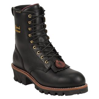 "Chippewa Boots 8"" Logger 400G ST WP Black Oiled"