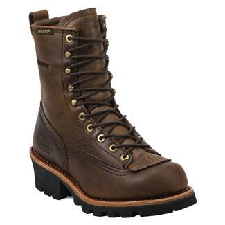 "Chippewa Boots 8"" Logger Lace-to-Toe WP Bay Apache"
