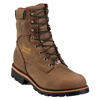 "Chippewa Boots 8"" Utility USA 400G WP Bay Apache"