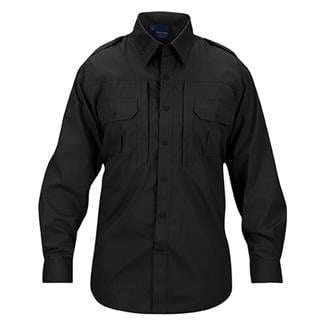 Propper Lightweight Long Sleeve Tactical Dress Shirts Black
