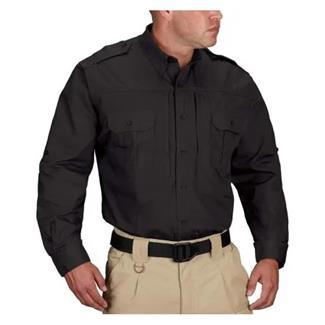 Propper Lightweight Long Sleeve Tactical Dress Shirts Black