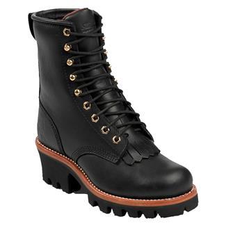 "Chippewa Boots 8"" Logger Black"