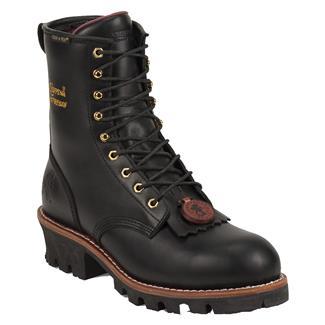 "Chippewa Boots 8"" Logger ST WP Black"