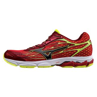 Mizuno Wave Catalyst Chinese Red / Black / Safety Yellow