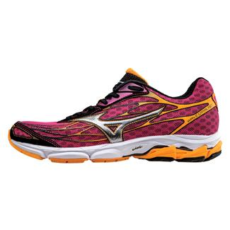 Mizuno Wave Catalyst Fuchsia Purple / Silver / Blazing Orange
