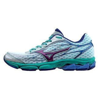 Mizuno Wave Catalyst White / Hyacinth Violet / Atlantis