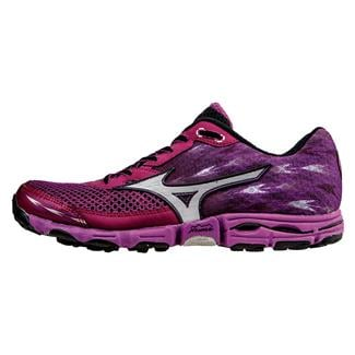 Mizuno Wave Hayate 2 Royal Purple / Silver / Irish Green