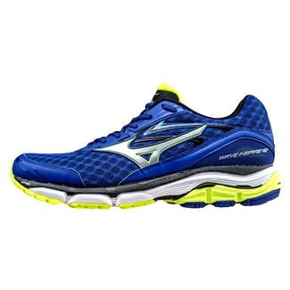 Mizuno Wave Inspire 12 Surf the Web / Silver / Safety Yellow