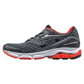 Mizuno Wave Inspire 12 Dark Shadow / Black / Fiesta