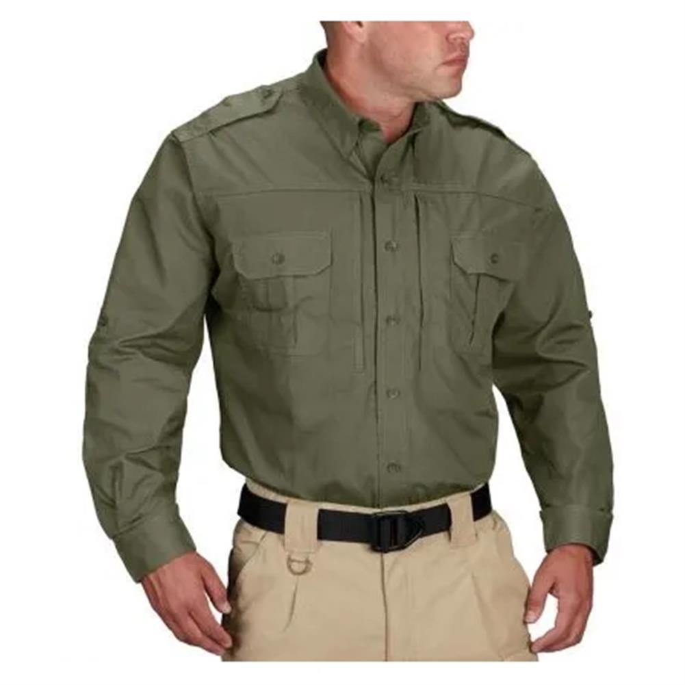 Men 39 S Propper Lightweight Long Sleeve Tactical Dress
