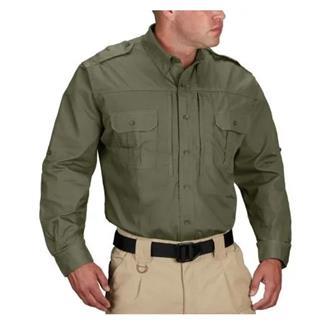Propper Lightweight Long Sleeve Tactical Dress Shirts Olive