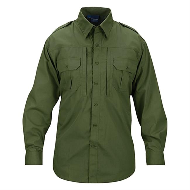 Propper Lightweight Long Sleeve Tactical Dress Shirts Olive