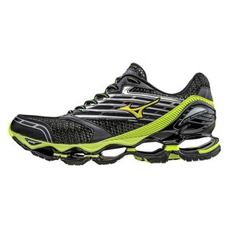 Mizuno Wave Prophecy 5 Black / Safety Yellow / Silver