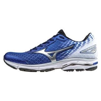 Mizuno Wave Rider 19 Surf the Web / Silver / Black