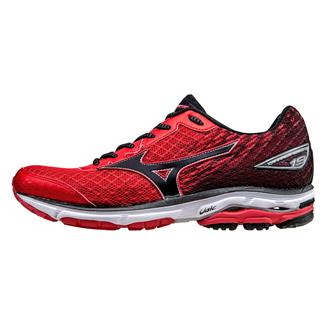 Mizuno Wave Rider 19 Chinese Red / Black / White
