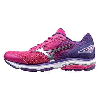 Mizuno Wave Rider 19 Fuchsia Purple / Silver / Royal Purple