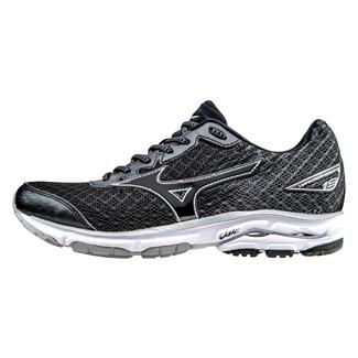 Mizuno Wave Rider 19 Back / White / Dark Shadow