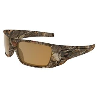 Oakley Fuel Cell Fishing & Hunting Woodland Camo (frame) - Bronze Polarized (lens)