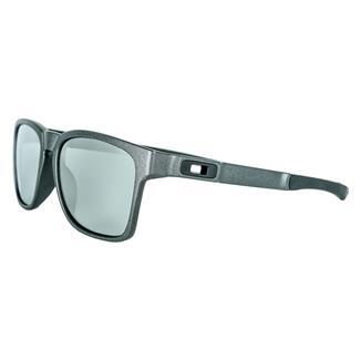 Oakley Catalyst Steel (frame) - Chrome Iridum (lens)