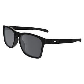 Oakley Catalyst Matte Black Black Iridum Polarized