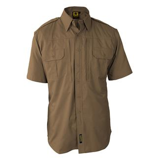Propper Lightweight Short Sleeve Tactical Dress Shirts Coyote Tan