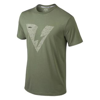 Oakley Alpha SI T-Shirt Worn Olive