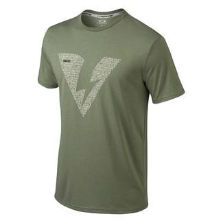 Oakley Alpha SI T-Shirt Worn Olive