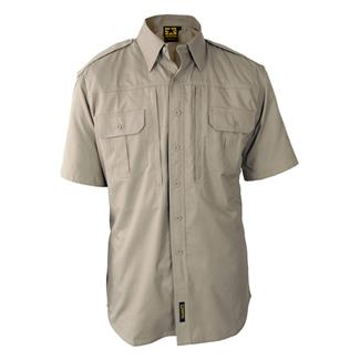Propper Lightweight Short Sleeve Tactical Dress Shirts Khaki