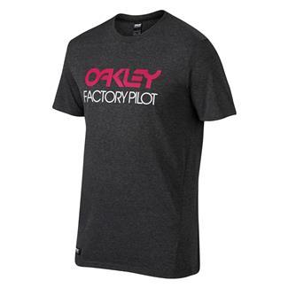 Oakley FP Basic Graphic T-Shirt Jet Black Heather