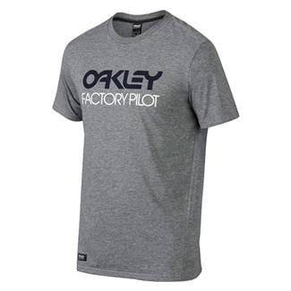 Oakley FP Basic Graphic T-Shirt Athletic Heather Gray