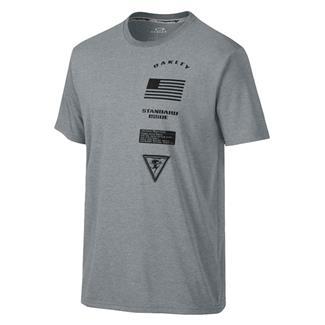Oakley Insignia T-Shirt Athletic Heather Gray