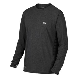 Oakley Long Sleeve Exposure T-Shirt Jet Black Heather