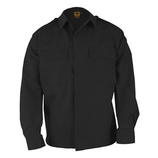 Propper Poly / Cotton Twill LS 2-Pocket BDU Shirts Black