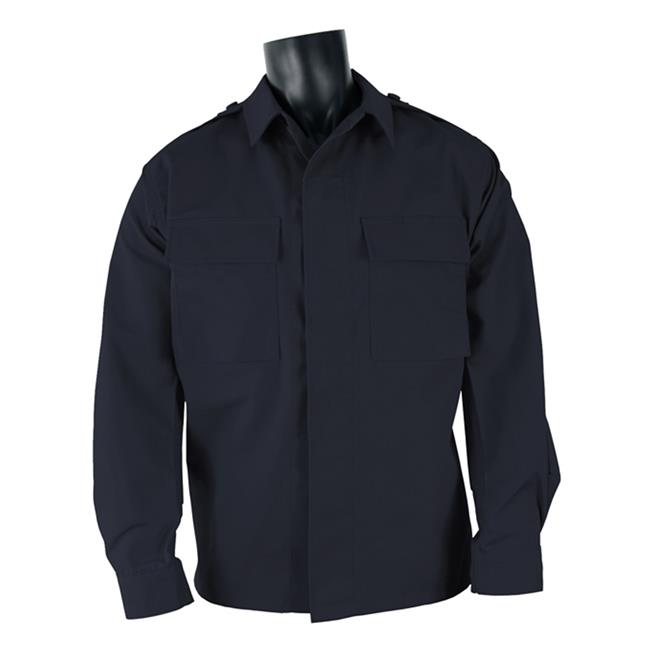 Propper Poly / Cotton Twill LS 2-Pocket BDU Shirts Dark Navy